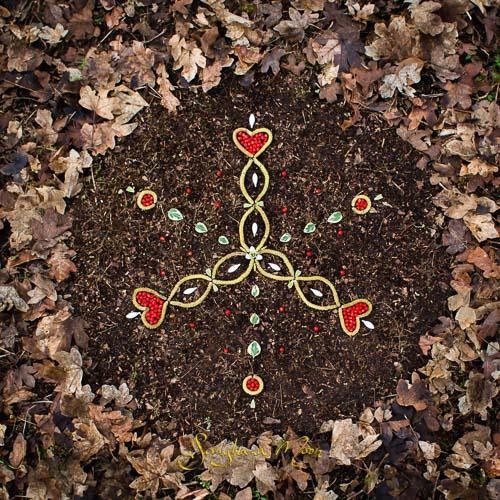 Menstrual mandala by Samjhana Moon