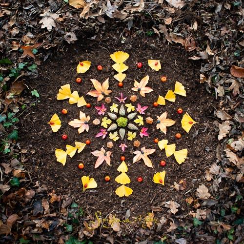 Earth Art Mandala
