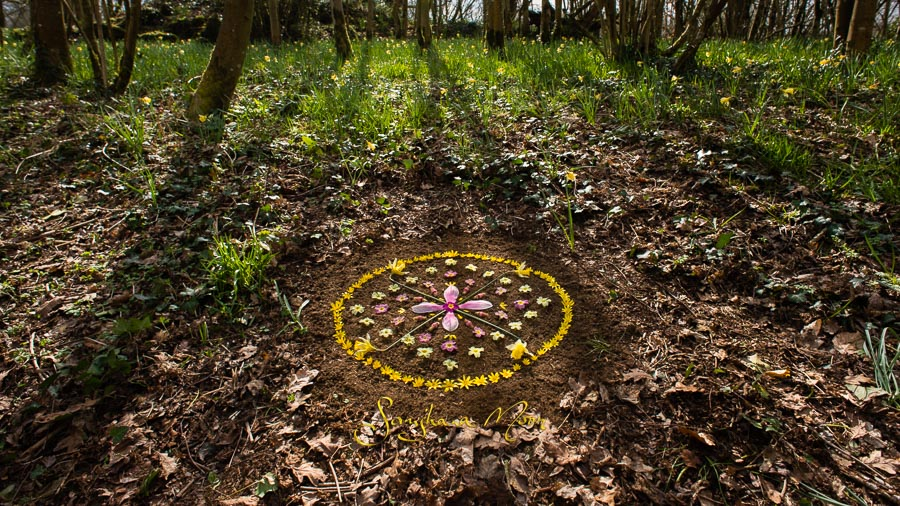 Spring Equinox blessing with a beautiful prayer of radical acceptance